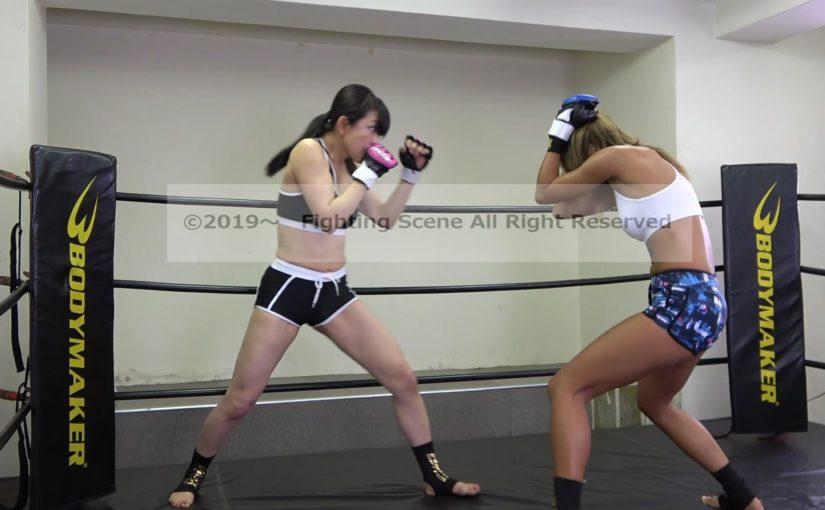 悶絶総合格闘技001 川崎優vs神崎まゆみ Agony Mixed Martial Arts 001  Yu Kawasaki vs Mayumi Kanzaki